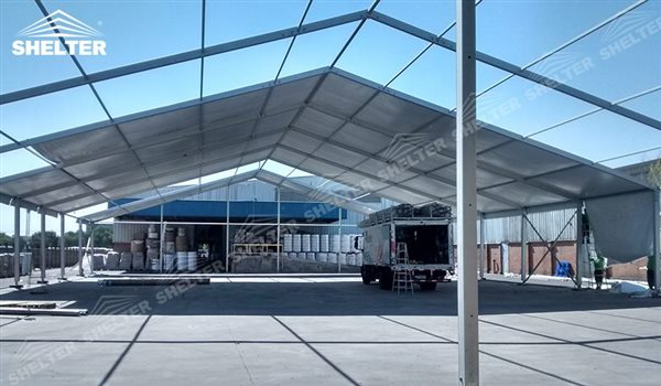 SHELTER Storage Tent - Temporary Warehouse Building - Fabric Structures for Industrial Use -8