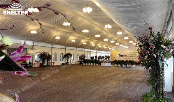 SHELTER mixed party tent Oval Structures - Bellend Tent - Music Party Marquee - Luxury Festival Hall -11