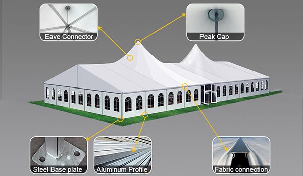 shelter-bellend-tent-oval-structures-wedding-party-marquee- : bell end tent - afamca.org