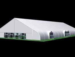 SHELTER Tensioned Fabric Structures - Aircraft Hangar - Helicopter Maintenance Canopy - Temporary Terminal Station - TFS Tent-40x90m