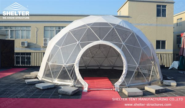 SHELTER Geodesic Domes - Dome Tent - Hemisphere Tents - Event Geodome for Sale - Wedding Marquee - Party Marquees -120