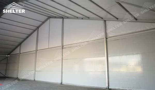 SHELTER Storage Tent - Temporary Warehouse Building - Fabric Structures for Industrial Use -15