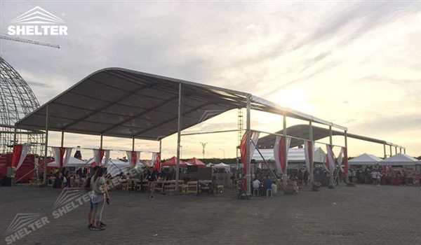 500 Sqm Outdoor Canopy Tent Arch Roof Structures