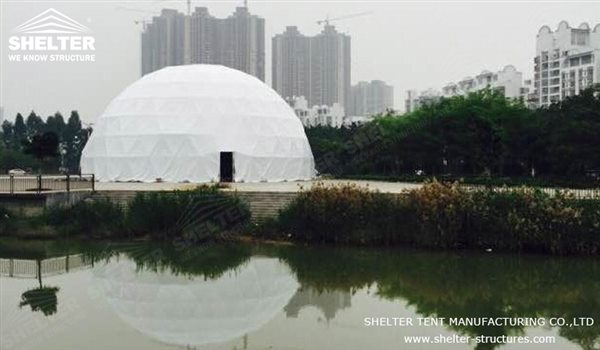 SHELTER Dome Tents Geodesic Domes - Dome Tent - Hemisphere Tents - Event Geodome for Sale - Wedding Marquee - Party Marquees -124