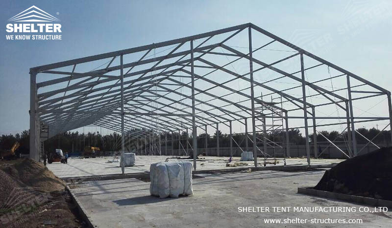 temporary warehouse structures - Temporary Storage Tent - Outdoor ...