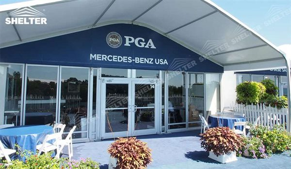 golf tents - arch tent - arcum tents - clear span tent - commercial marquee - Shelter event marquees for sale (4353)
