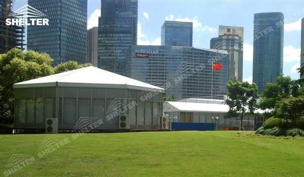 SHELTER Polygon Tent - Event Marquee -1