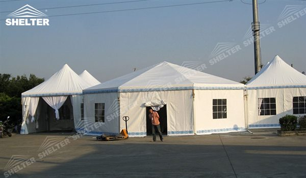 SHELTER Polygon Tent - Event Marquee -2