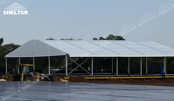 SHELTER industrial tents - arch tent - arcum tents - large event marquee - wedding marquees & Temporary Industrial Tents - Warehouse Tent - Storage Building