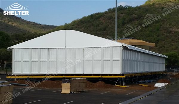 Industrial Temporary Shelters : Temporary industrial tents warehouse tent storage building