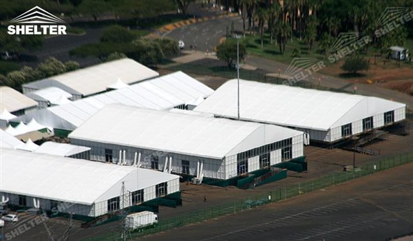 SHELTER industrial tent - temporary warehouse building - arch tent - arcum tents - large event & Industrial Tent - Warehouse Tents for Sale - Storage Building