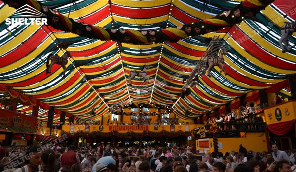 large beer hall for beer festival tent german beer fest Shelter Event party tent with lining & 3000 Beer Festival Tent Beer Tents Supplied in German US Russia