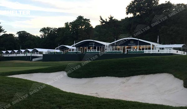 2016 PGA Ryder Cup - SHELTER Golf Tent - Reception Tents - Sport Lounge Hall - VIP Catering Area -1