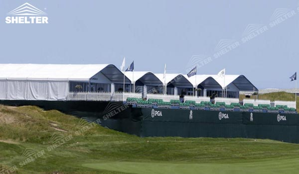 2016 PGA Ryder Cup - SHELTER Golf Tent - Reception Tents - 20x20 Tent Sport Lounge Hall - VIP Catering Area -1