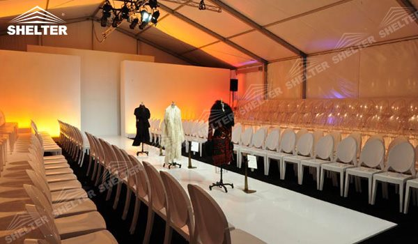 SHELTER Event Tent - Commercial Marquees - Fashion Week Reception Hall - Temporary Lounge Tent -92