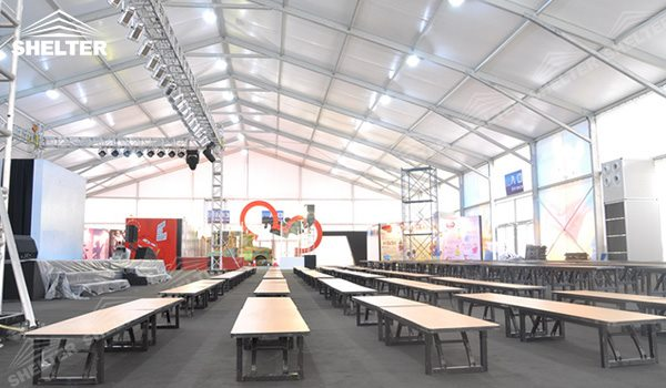 SHELTER Event Tent - Commercial Marquees - Reception Hall - Temporary Lounge Tent -95