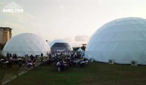 SHELTER Geodesic Domes - Dome Tent - Hemisphere Tents - Event Geodome for Sale - Wedding Marquee - Party Marquees -11