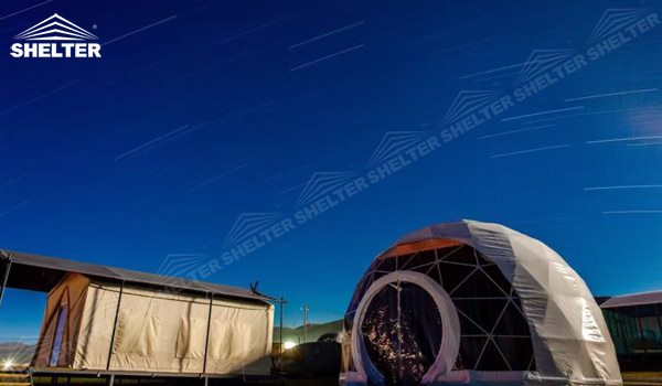 SHELTER Geodesic Domes - Dome Tent - Hemisphere Tents - Event Geodome for Sale - Wedding Marquee - Party Marquees -176