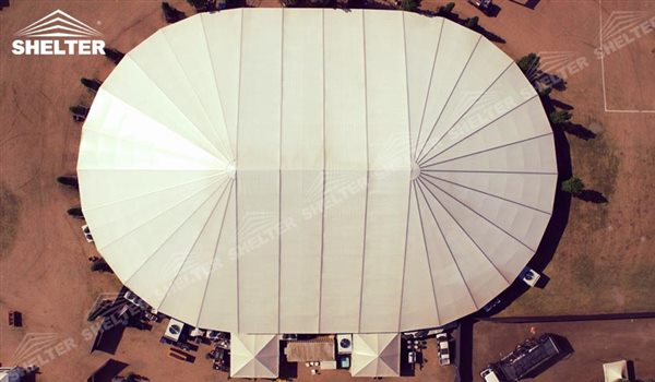 SHELTER Oval Structures - Bellend Tent - Music Party Marquee - Luxury Festival Hall -29