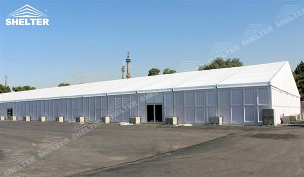 SHELTER Warehouse Tent - Temporary Storage Building - Fabric Structures for Industrial Use -32
