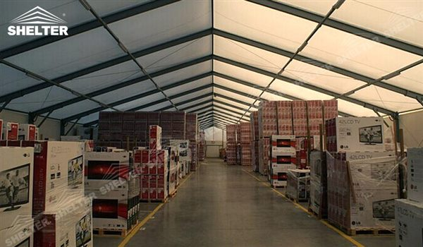 Features of Temporary Warehouse - Storage Tent - Shelter Structures