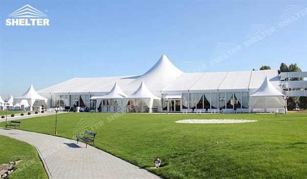 SHELTER Wedding Hall - Party Marquee - Luxury Reception Tent - Outdoor Catering Venue -170