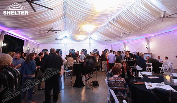 SHELTER Wedding Hall - Graduation Party Marquee - Luxury Reception Tent - Outdoor Catering Venue -191