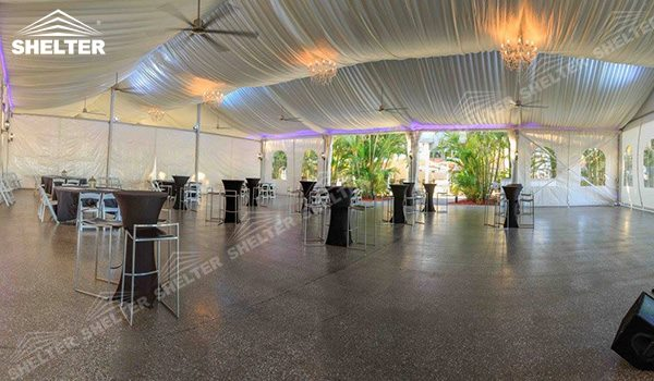 SHELTER Wedding Hall - Party Marquee - Luxury Reception Tent - Outdoor Catering Venue -193