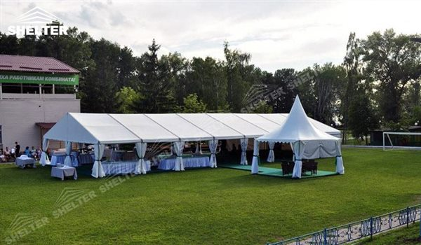 Shelter Wedding Hall Graduation Party Marquee Luxury Reception Tent Outdoor Catering Venue