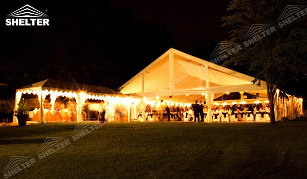 SHELTER Wedding Hall - Party Marquee - Luxury Reception Tent - Outdoor Catering Venue -209