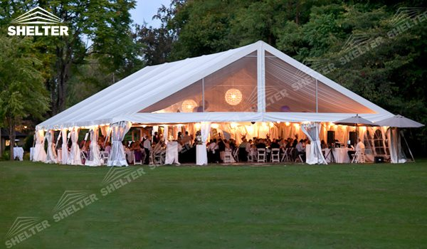 SHELTER Wedding Hall - Party Marquee - Luxury Reception Tent - Outdoor Catering Venue -213 : outside wedding tents - memphite.com
