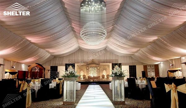 SHELTER Wedding Hall - Party Marquee - Luxury Reception Tent - Outdoor Catering Venue -24 & How to Choose Reliable Tents Company - Clear Span - Shetler Structures