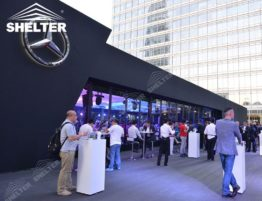 Shelter Thermo Roof Tent - Commercial Tents for Benz Launch