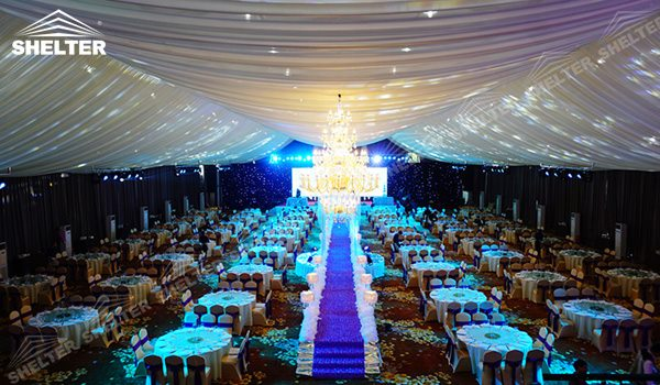 SHELTER Event Company Wedding Hall - Party Marquee - Luxury Reception Tent - Outdoor Catering Venue -207