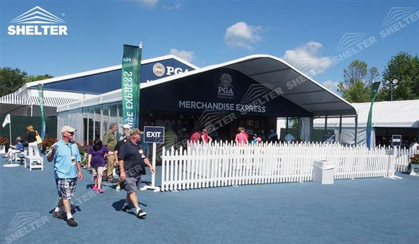 2016 PGA Ryder Cup u2013 Recetion Tent / VIP Lounge Canopy Supplier & Lounge Canopy - Reception Tent - Clear Span Shelter Structures