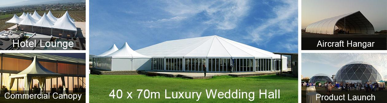 40 x 40 Canopy Tent - 40 x 60 m Event Tents For Sale - Shelter
