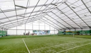 Shelter Tennis Court Cover - Football Canopy - Sports Structures