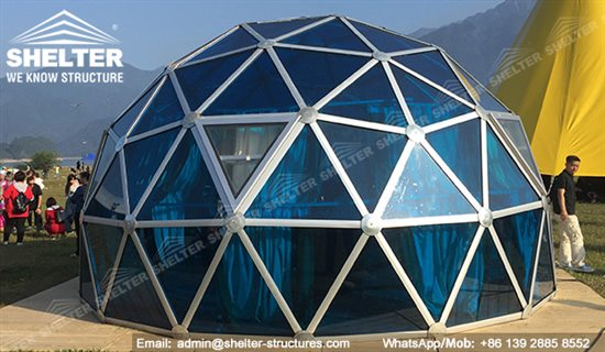 shelter-glass-dome-geodesic-domes-tents-with-pc-panel-6