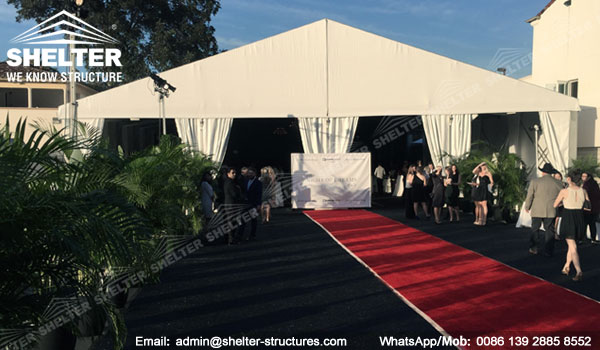 Shelter Clear Span Christmas Tent - banquet tent - Wedding Marquee - 20 x 45 Party Tents -4