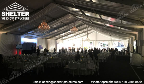 Shelter Clear Span Tent - banquet tent - Wedding Marquee - 20 x 45 Party Tents -4