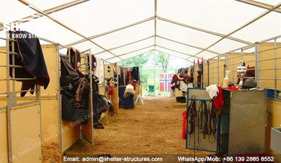 Indoor Horse Arena Covered Riding Building Shelter