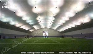 Shelter Indoor Soccer Field - Backyard Basketball Court - Sport Structures -1_Jc
