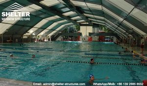 Swimming Pool Shades Canopy- Pool Enclosure - Shelter Structures