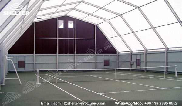 Indoor Tennis Court Tennis Canopy Tent Shelter Structures