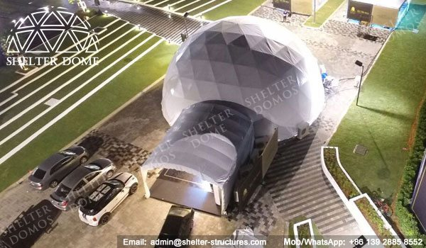Shelter Dia. 15m Sphere Dome Tent - Dome Wedding Venue - Geodesic Tents for Catering -15