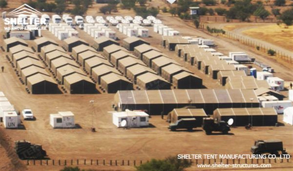 relief shelter - army tent - military tents for sale - shelter tent-5
