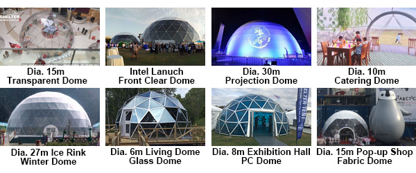 Custom Geodesic Dome - Dome Tent Design - Transparent Dome - Winter Dome - Projection Dome - Exhibition Tent - Pop-up Shop