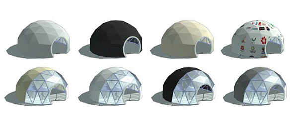 Custom Geodesic Dome Tent