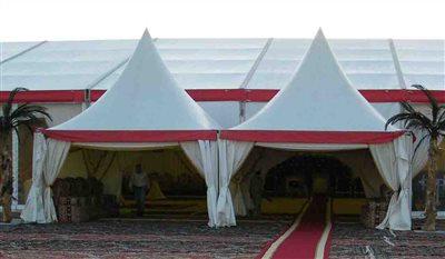 Printed Service of Raj Tents - Hajj Tent - Ramadan Marquee