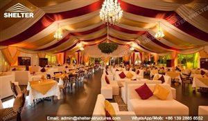SHELTER Arabian Hajj Tent - Raj Tents - Luxury Ramadan Marquee -1
